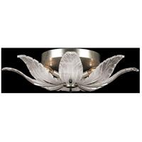 Fine Art Lamps 894140-11ST Plume 4 Light 28 inch Silver Semi-Flush Mount Ceiling Light