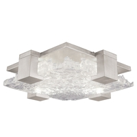 Fine Art Lamps 895440-21ST Terra 4 Light 17 inch Silver Flush Mount Ceiling Light