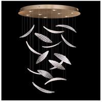 Fine Art Lamps 895840-222ST Elevate 8 Light 32 inch Gold Leaf Pendant Ceiling Light