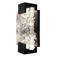 Fine Art Lamps 896550-11ST Terra 2 Light 6 inch Black ADA Sconce Wall Light