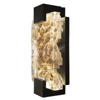 Fine Art Lamps 896550-12ST Terra 2 Light 6 inch Black ADA Sconce Wall Light