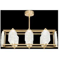 Fine Art Lamps 897240-21ST Allison Paladino LED 48 inch Gold Pendant Ceiling Light
