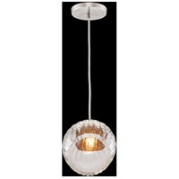 Fine Art Lamps 897440-1AB Nest 1 Light 8 inch Silver Drop Light Ceiling Light