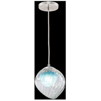 Fine Art Lamps 897440-1AQ Nest 1 Light 8 inch Silver Drop Light Ceiling Light