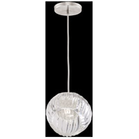 Fine Art Lamps 897440-1CL Nest 1 Light 8 inch Silver Drop Light Ceiling Light