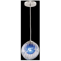 Fine Art Lamps 897440-1CO Nest 1 Light 8 inch Silver Drop Light Ceiling Light