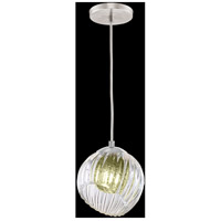 Fine Art Lamps 897440-1FG Nest 1 Light 8 inch Silver Drop Light Ceiling Light
