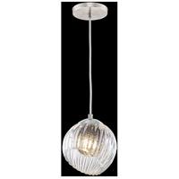 Fine Art Lamps 897440-1SQ Nest 1 Light 8 inch Silver Drop Light Ceiling Light