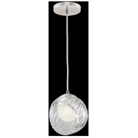 Fine Art Lamps 897440-1WH Nest 1 Light 8 inch Silver Drop Light Ceiling Light