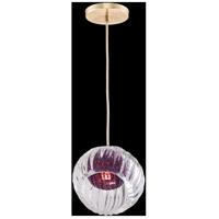 Fine Art Lamps 897440-2AM Nest 1 Light 8 inch Gold Pendant Ceiling Light