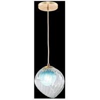 Fine Art Lamps 897440-2AQ Nest 1 Light 8 inch Gold Pendant Ceiling Light