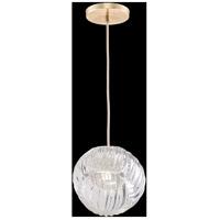 Fine Art Lamps 897440-2CL Nest 1 Light 8 inch Gold Pendant Ceiling Light