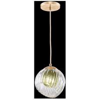 Fine Art Lamps 897440-2FG Nest 1 Light 8 inch Gold Pendant Ceiling Light