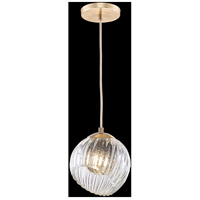 Fine Art Lamps 897440-2SQ Nest 1 Light 8 inch Gold Pendant Ceiling Light