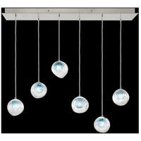Fine Art Lamps 897740-1AQ Nest 6 Light 15 inch Silver Pendant Ceiling Light