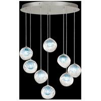 Fine Art Lamps 897840-1AQ Nest 8 Light 35 inch Silver Pendant Ceiling Light