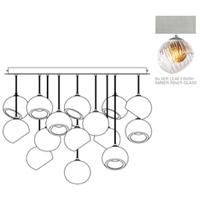 Fine Art Lamps 897940-1AB Nest 16 Light 47 inch Silver Pendant Ceiling Light