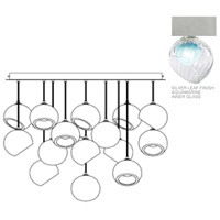 Fine Art Lamps 897940-1AQ Nest 16 Light 47 inch Silver Pendant Ceiling Light