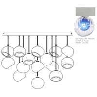 Fine Art Lamps 897940-1CO Nest 16 Light 47 inch Silver Pendant Ceiling Light