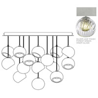 Fine Art Lamps 897940-1FG Nest 16 Light 47 inch Silver Pendant Ceiling Light