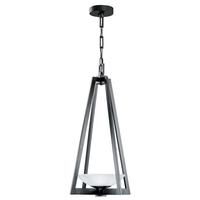 Fine Art Lamps 898282ST Delphi Outdoor LED 18 inch Black Outdoor Lantern