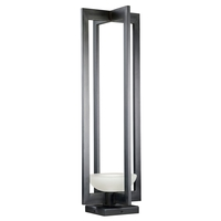Fine Art Lamps 898380ST Delphi Outdoor LED 29 inch Black Outdoor Adjustable Pier/Post Mount