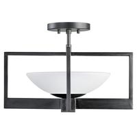 Fine Art Lamps 898482ST Delphi Outdoor LED 18 inch Black Outdoor Flush Mount