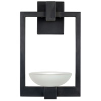 Fine Art Lamps 898581ST Delphi LED 16 inch Black Outdoor Wall Sconce