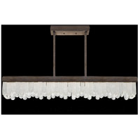 Fine Art Lamps 898940-3ST Lior LED 48 inch Bronze Pendant Ceiling Light