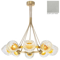 Fine Art Lamps 899240-1AB Nest 8 Light 39 inch Silver Pendant Ceiling Light