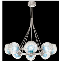 Fine Art Lamps 899240-110AQ Nest 8 Light 39 inch Silver Pendant Ceiling Light