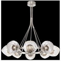 Fine Art Lamps 899240-18SQ Nest 1 Light 8 inch Silver Pendant Ceiling Light