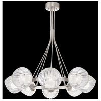 Fine Art Lamps 899240-18WH Nest 1 Light 8 inch Silver Pendant Ceiling Light