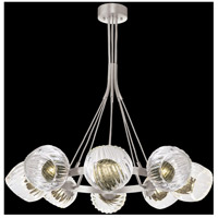 Fine Art Lamps 899240-19FG Nest 8 Light 39 inch Silver Pendant Ceiling Light