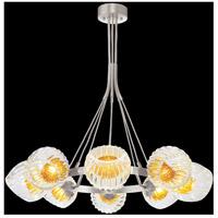 Fine Art Lamps 899240-1AB Nest 8 Light 39 inch Silver Pendant Ceiling Light
