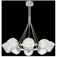 Fine Art Lamps 899240-1CL Nest 8 Light 39 inch Silver Pendant Ceiling Light
