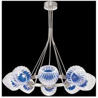 Fine Art Lamps 899240-1CO Nest 8 Light 39 inch Silver Pendant Ceiling Light