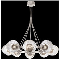 Fine Art Lamps 899240-1SQ Nest 8 Light 39 inch Silver Pendant Ceiling Light