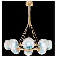 Fine Art Lamps 899240-28AQ Nest 1 Light 8 inch Gold Pendant Ceiling Light