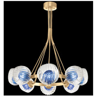 Fine Art Lamps 899240-28CO Nest 1 Light 8 inch Gold Pendant Ceiling Light