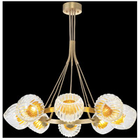Nest 1 Light 8 inch Gold Pendant Ceiling Light