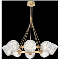 Fine Art Lamps 899240-29CL Nest 1 Light 8 inch Gold Pendant Ceiling Light