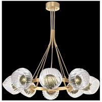 Fine Art Lamps 899240-29FG Nest 1 Light 8 inch Gold Pendant Ceiling Light