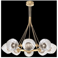 Fine Art Lamps 899240-29SQ Nest 1 Light 8 inch Gold Pendant Ceiling Light