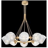 Fine Art Lamps 899240-2CL Nest 8 Light 39 inch Gold Pendant Ceiling Light