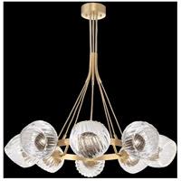 Fine Art Lamps 899240-2SQ Nest 8 Light 39 inch Gold Pendant Ceiling Light