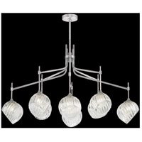 Fine Art Lamps 899340-1CL Nest 1 Light 8 inch Silver Pendant Ceiling Light