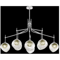 Fine Art Lamps 899340-1FG Nest 1 Light 8 inch Silver Pendant Ceiling Light
