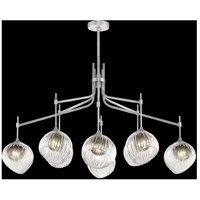 Fine Art Lamps 899340-1SQ Nest 1 Light 8 inch Silver Pendant Ceiling Light