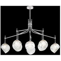 Fine Art Lamps 899340-1WH Nest 1 Light 8 inch Silver Pendant Ceiling Light